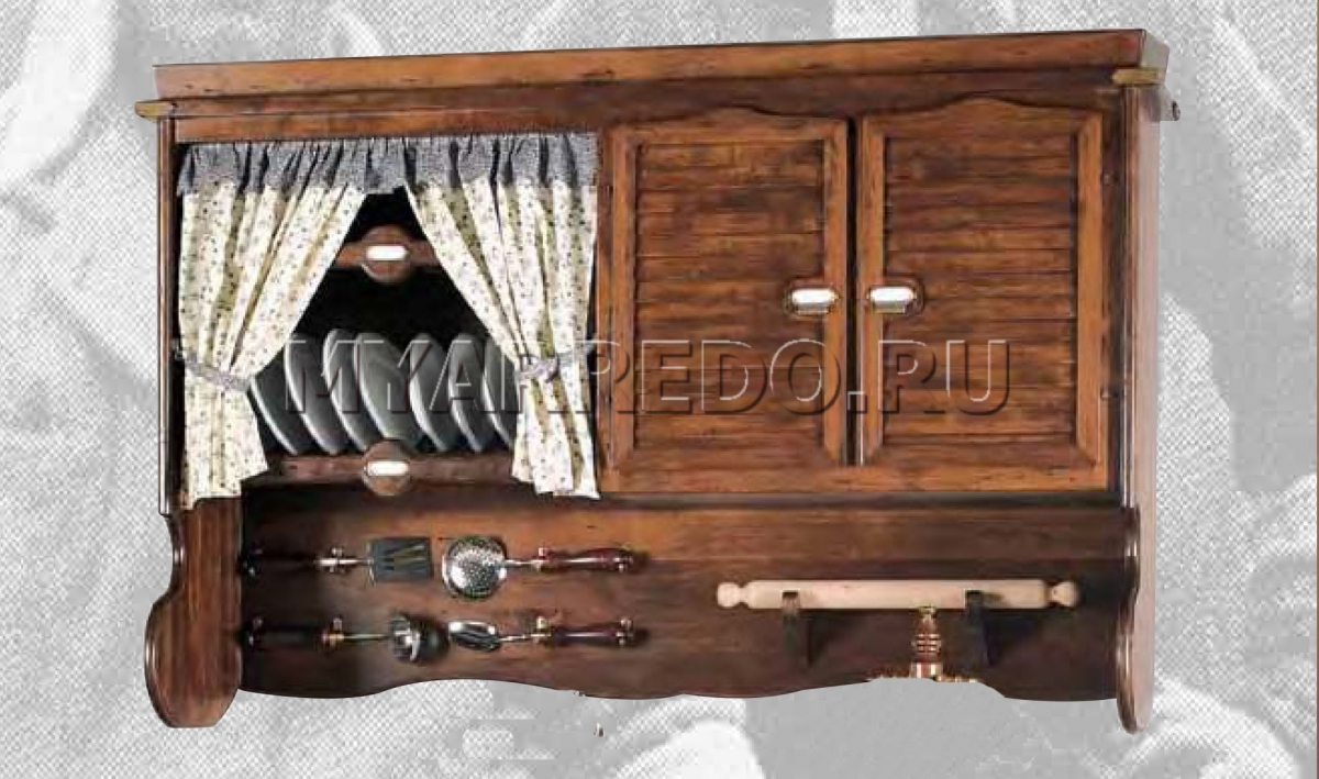 Деревянный шкаф для посуды своими руками 99