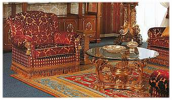 Стол журнальный ASNAGHI INTERIORS New classic collection 983303