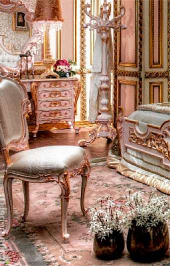 Стул ASNAGHI INTERIORS New classic collection IT1406